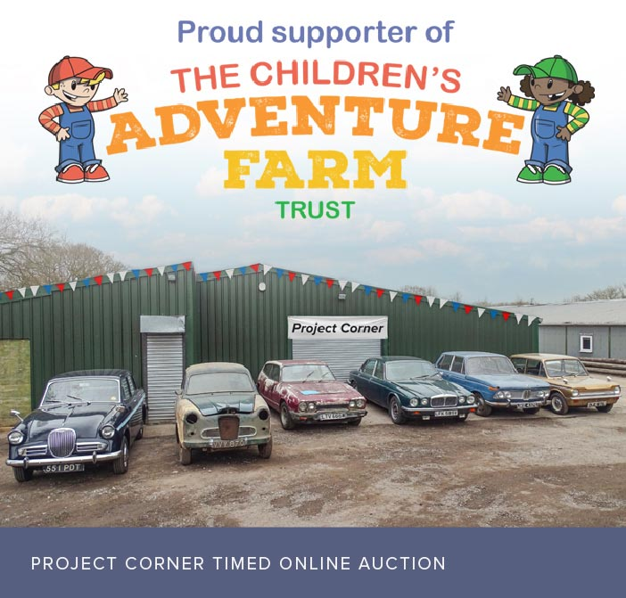 Proud supporters of the Childrens Adventure Farm Trust