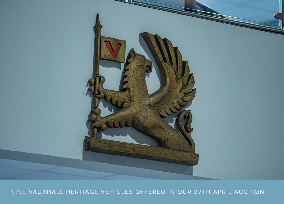 Vauxhall Heritage staying at Manor Park Classics