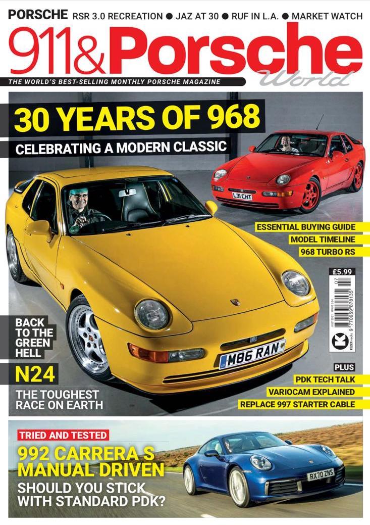 911 & Porsche cover