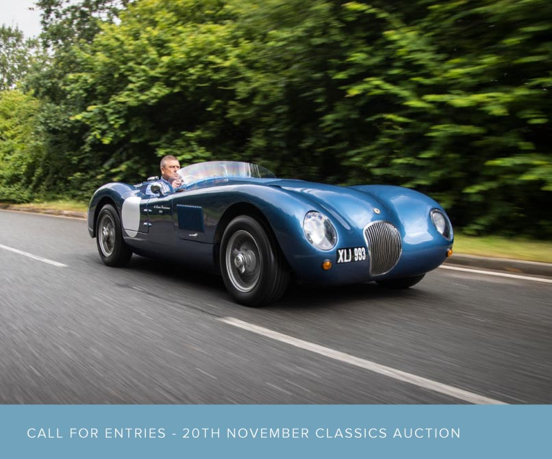 Call for Entries for the 20th November Auction!